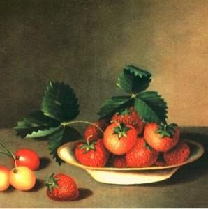 Anna Peale berries snip
