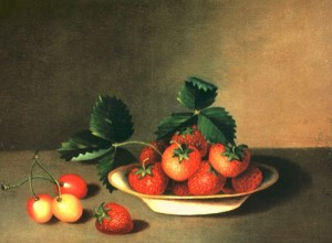 anna peale strawberries and cherries