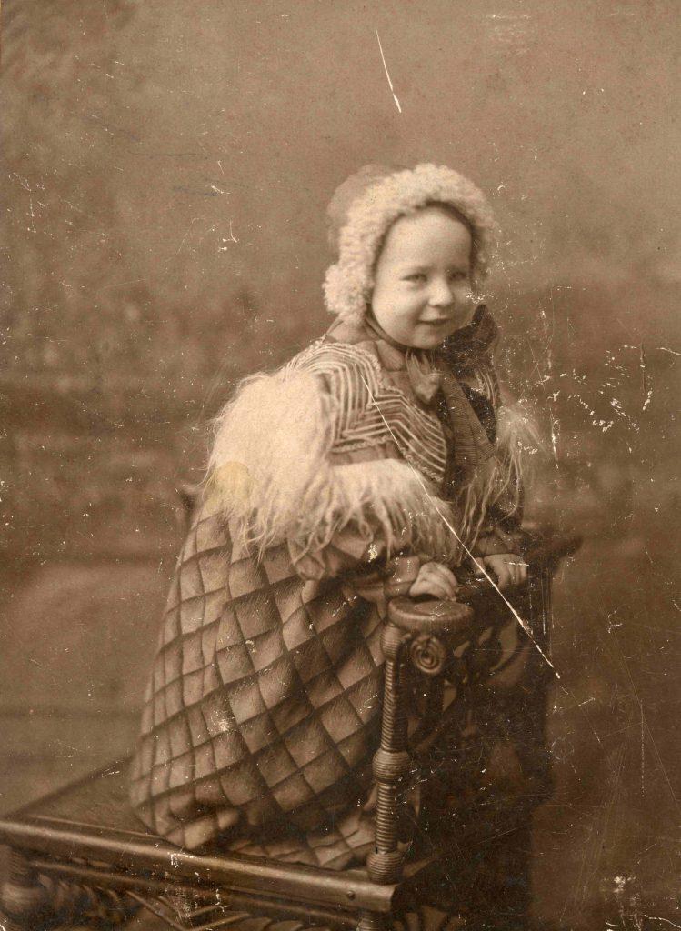 Narcissa Owen as child. Courtesy Betty Groth.